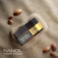 Haarmaske mit Arganöl von Nanoil